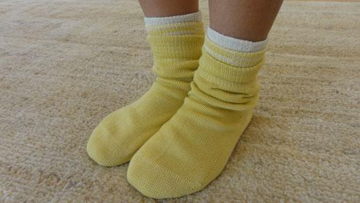 生活絹 子ども用 セット 黄色