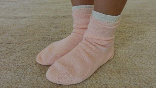 生活絹 子ども用 セット ピンク