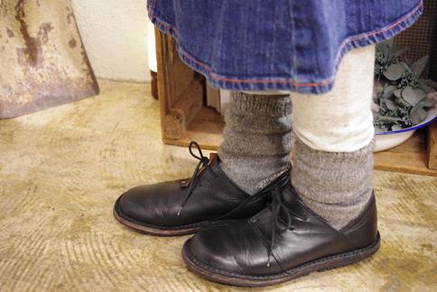 プエンテ 靴下 着用横