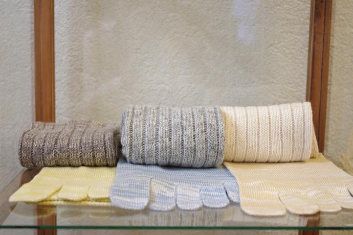 スラックソックス 絹綿セット トップ画