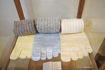 スラックソックス 絹綿セット ウールセットへのリンク