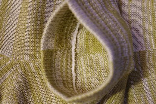 絹+綿 混紡靴下