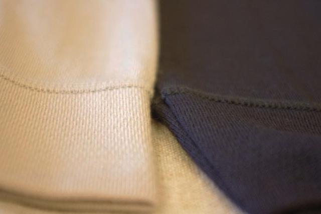 レギンス 裾切り返しタイプ