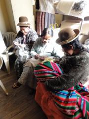 村の女性たち